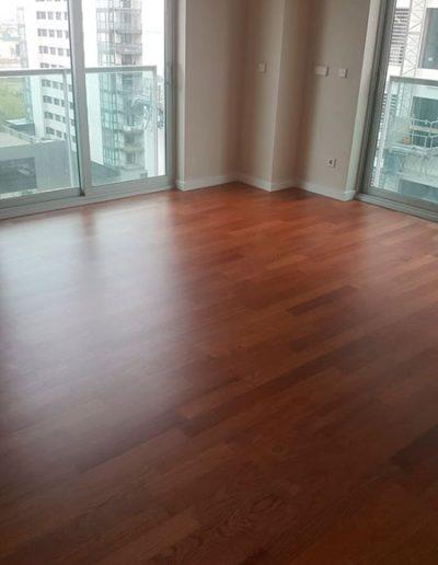 suelo de parquet en vivienda